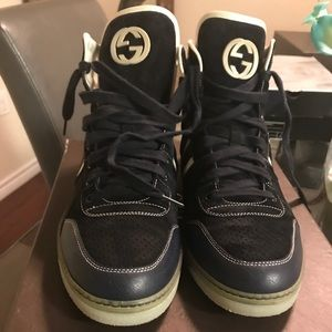 Gucci High Top Tennis 100% Authentic